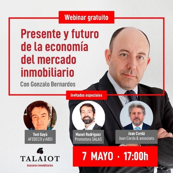 """Webinar """"Presente y futuro de la economía del mercado inmobiliario"""""""